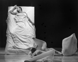 The hospital scene with Graeme Murphy as Jean Cocteau (photo @Branco Gaica)