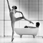 Some Rooms - Janet Vernon & Ross Philip in the bathroom (photo @Branco Gaica)