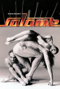 Salome - Program's cover with Bradley Chatfield, Josef Brown & Tracey Carrodus (photo ©Lois Greenfield)
