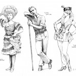 TIVOLI - Costume Drawings (by Kristian Fredrikson)