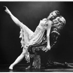 Kathryn Dunn as 'Beauty' and Tristan Borrer as the 'Gothic Beast' (photo by Branco Gaica, 1993)