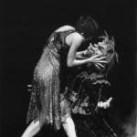Linda Ridgway as 'Beauty' and Brett Morgan as 'The Beast' (photo Branco Gaica 1997)